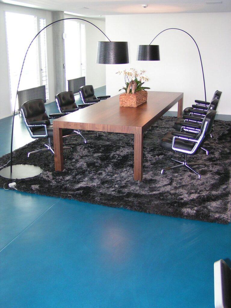 Bodenbelag, Sitzungszimmer